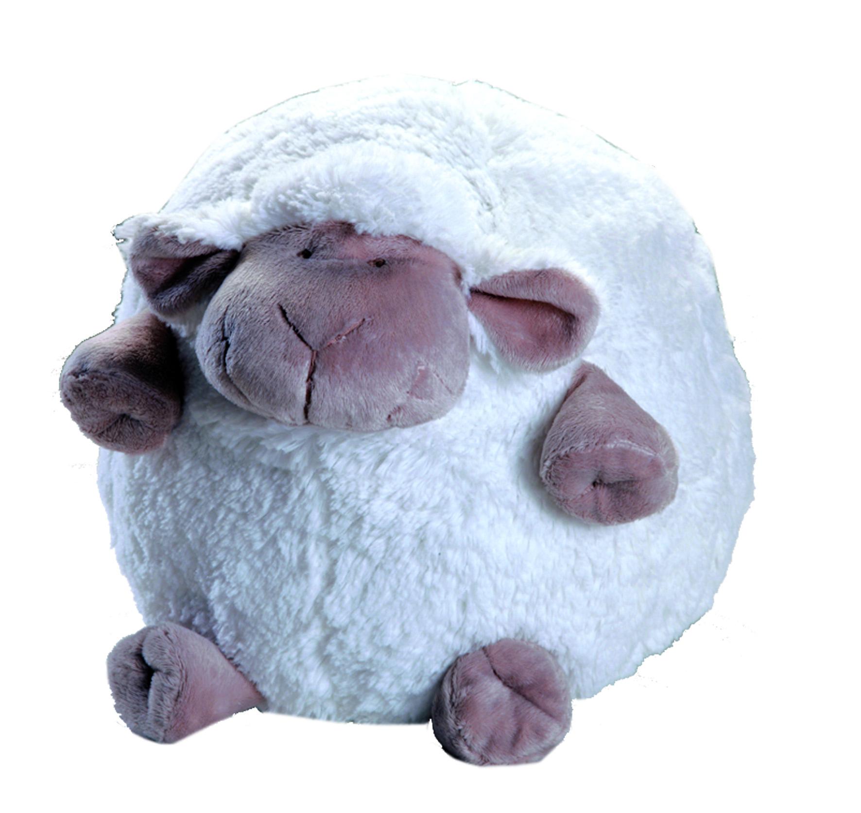 Peluche - mouton boule blanc PM 8 : escapadeaouessant.com - Boutique ...